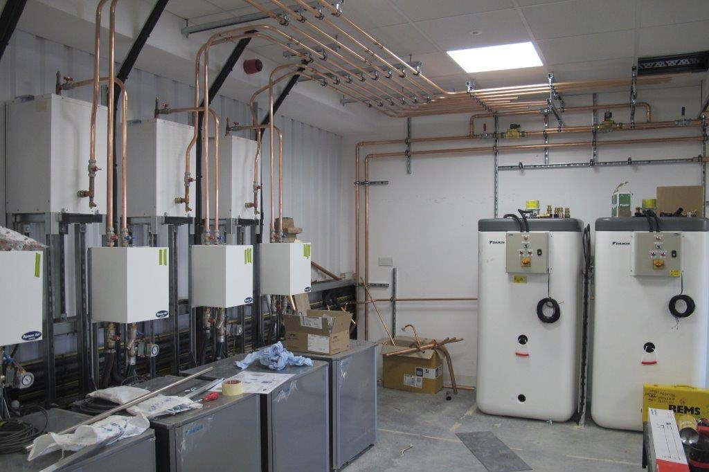 Completed water sytem installation